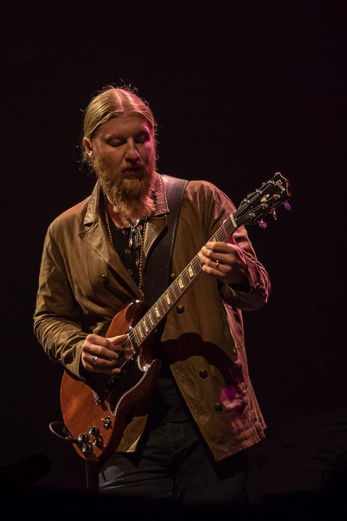 Derek Trucks - Liederhalle Stuttgart, 11/2015.