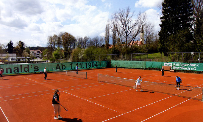 Tennisplatz Postau
