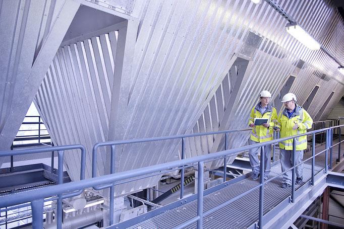 Industriefoto in EEW Anlage in Premnitz,Jürgen Müller