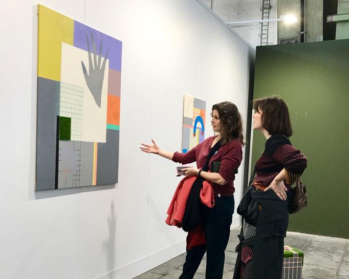 U.Susanne Buchart und Nadine Glas bei der Academy Positions Berlin 2019