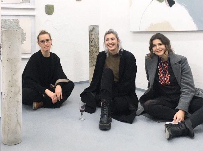 SALOON Meeting in der Alten Feuerwache Loschwitz zur Ausstellung KONKRET