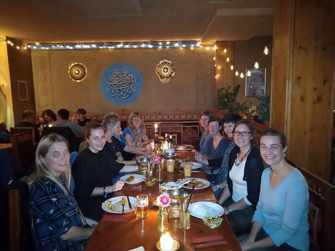 SALOON Exchange Dinner 2019