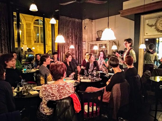 Diner SALOON Paris, 2018