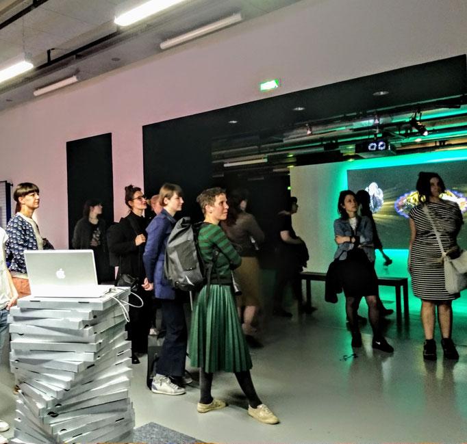 SALOON Paris at Gaité Lyrique with curator Marie Lechner, 2019