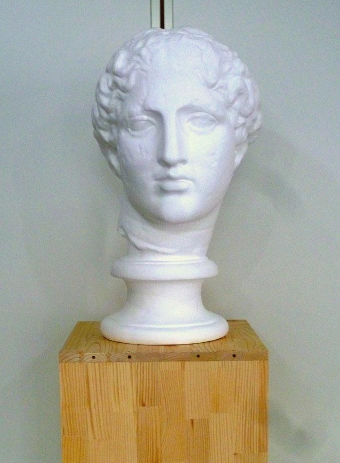 石膏デッサン(ラボルト像)