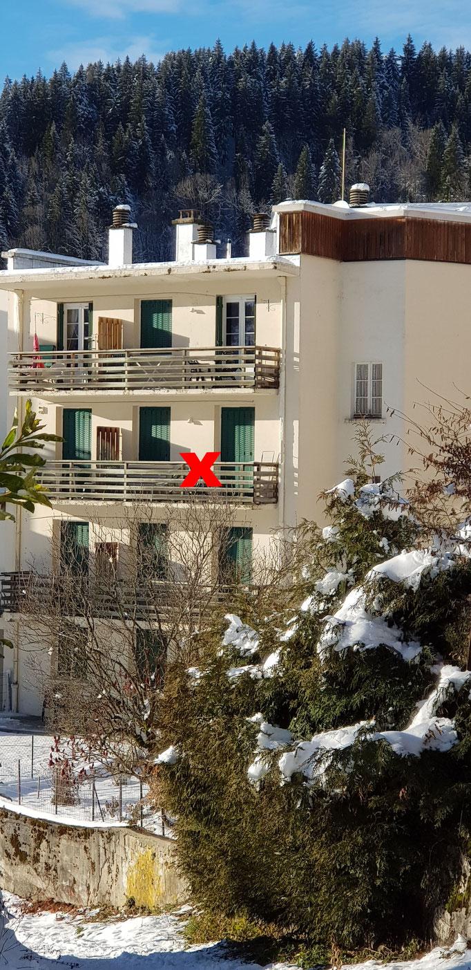 balcon vue Chamechaude
