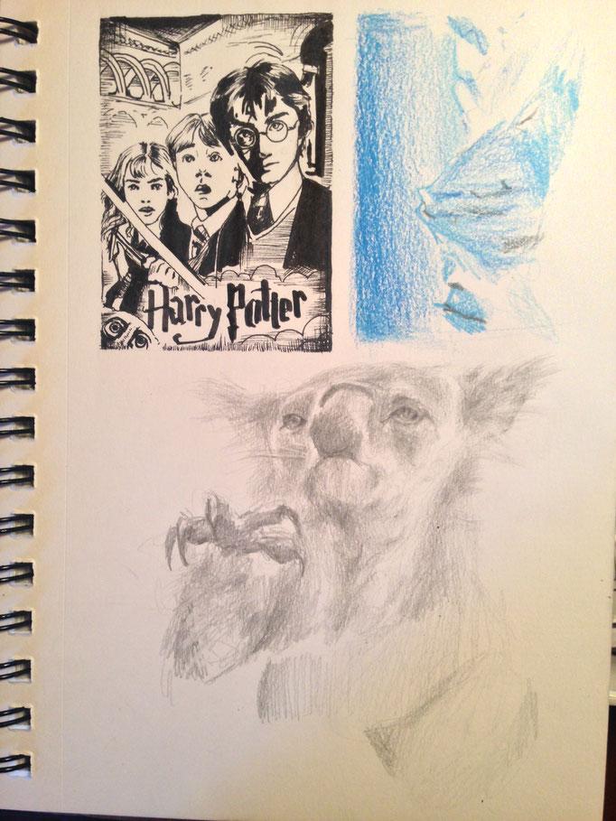 Paula gewährt uns Einblick in ihr Sketch book