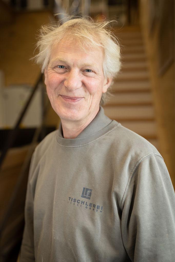 Tischlergeselle & Allrounder Gerhard Armborst