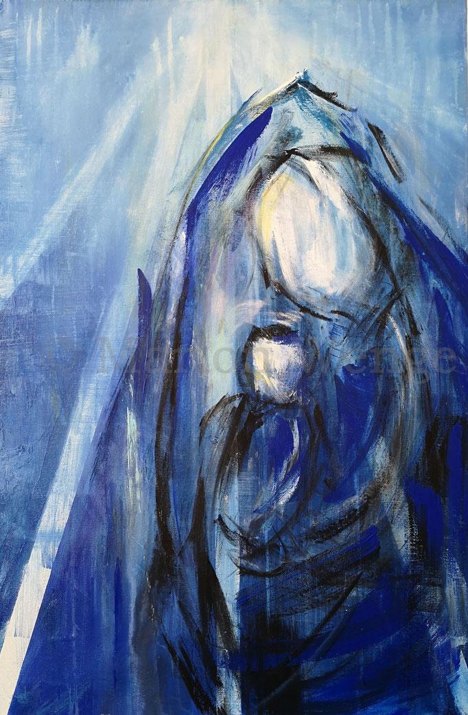 ...empfangen durch den Heiligen Geist, geboren von der Jungfrau Maria,...