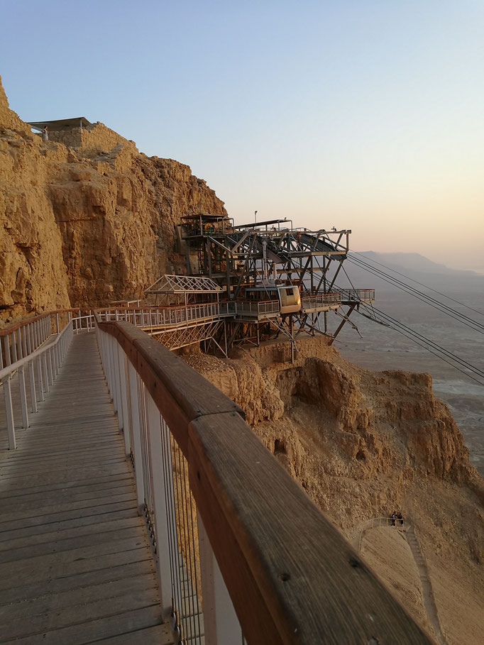 Entrance to Masada National Park