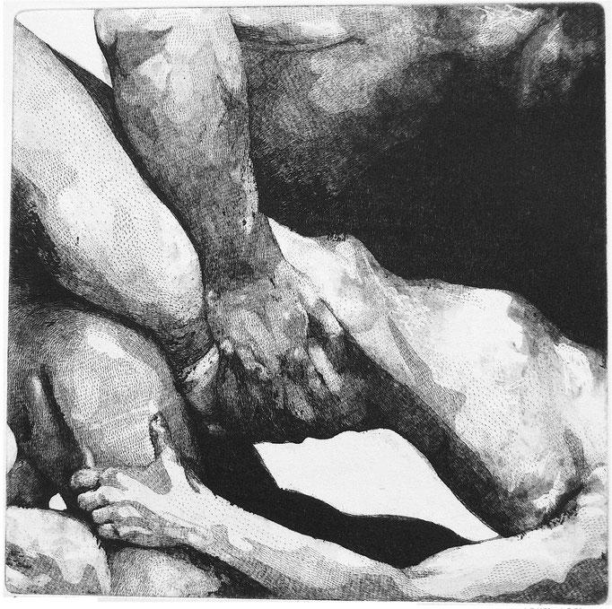 Fondations I - Cuivre - 30,45/30,45 cm - 2016