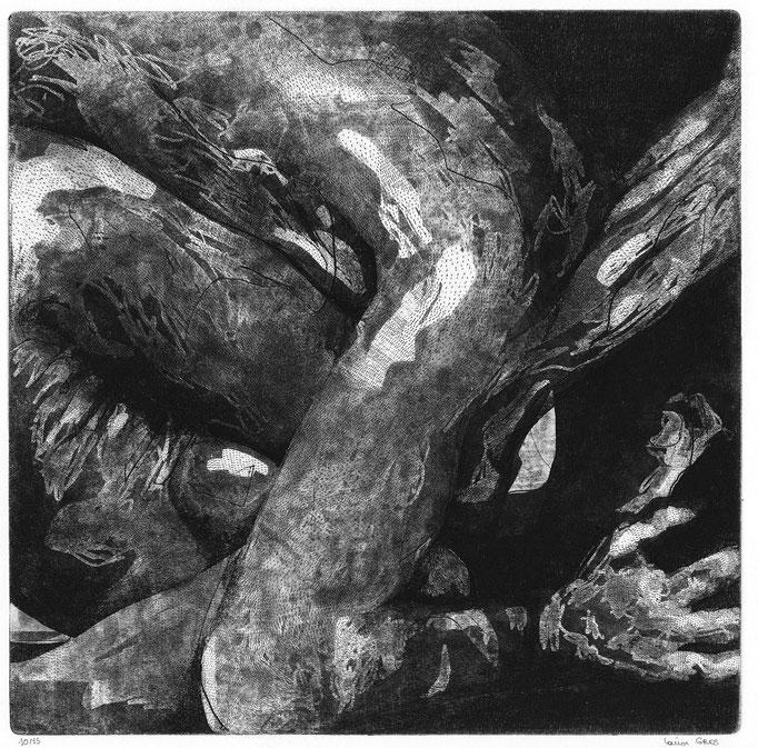 Fondations II - Cuivre - 30,45/30,45 cm - 2016