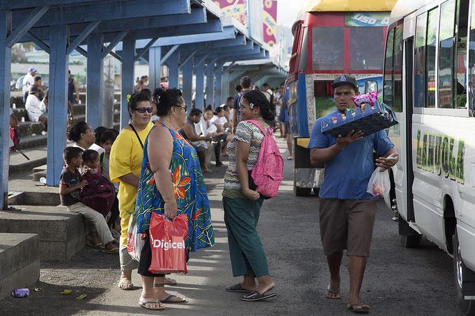 Busbahnhof in Apia