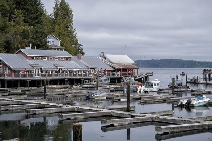 Telegraph Cove Vancouver Island Britsh Columbia Kanada