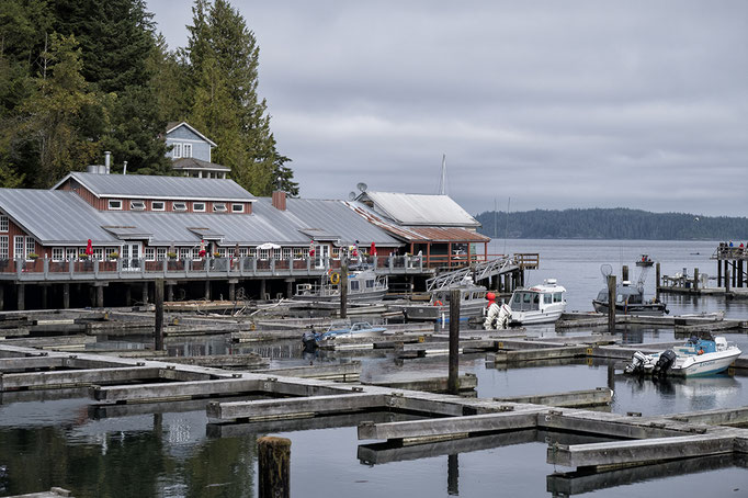Telegraph Cove, Vancouver Island, Britsh Columbia, Kanada