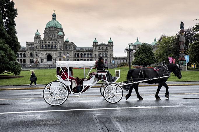 Parlamentsgebäude in Victoria  Vancouver Island Britsh Columbia Kanada