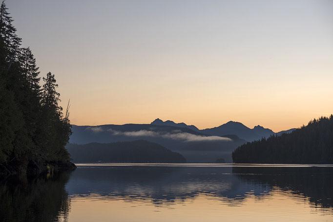 Bei Tofino am Morgen, Vancouver Island, Britsh Columbia, Kanada