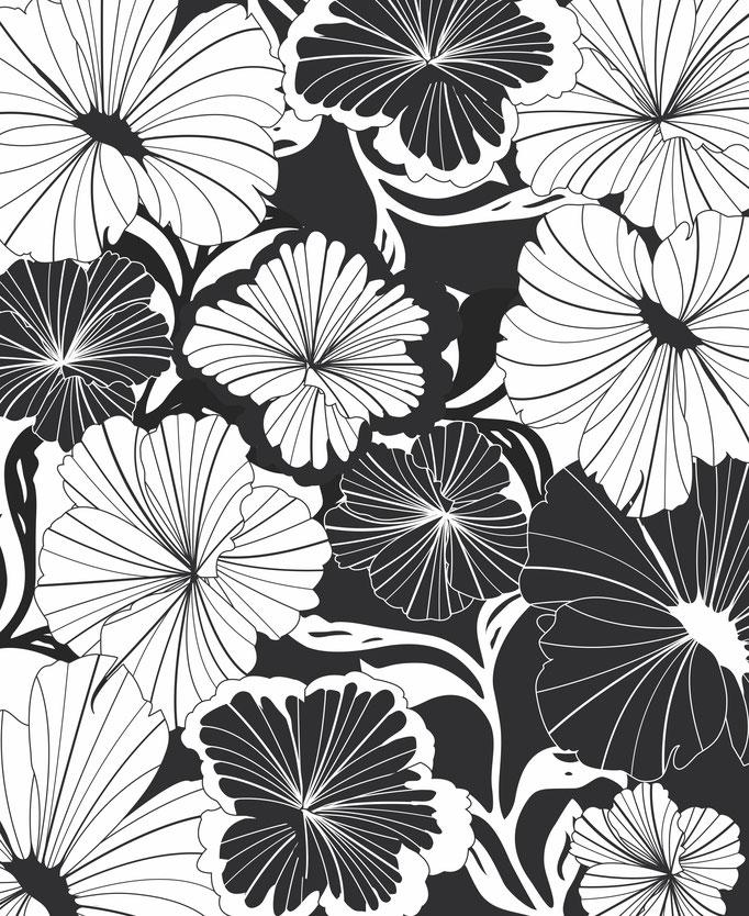 """Design """"black dahlia"""""""