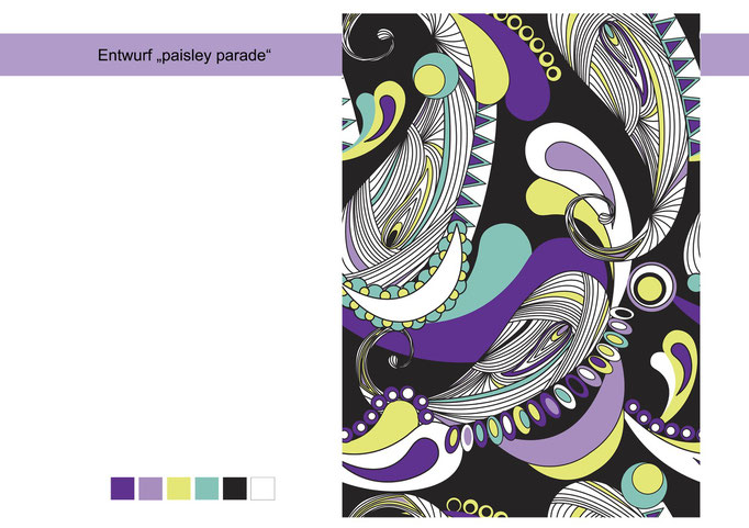 "Design ""paisley parade"""