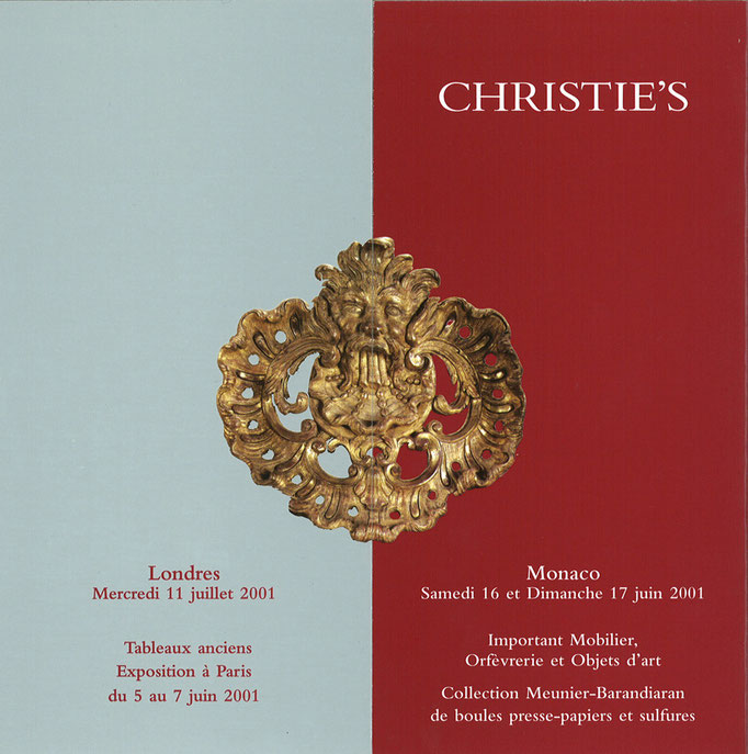 INVITATION, Christie's