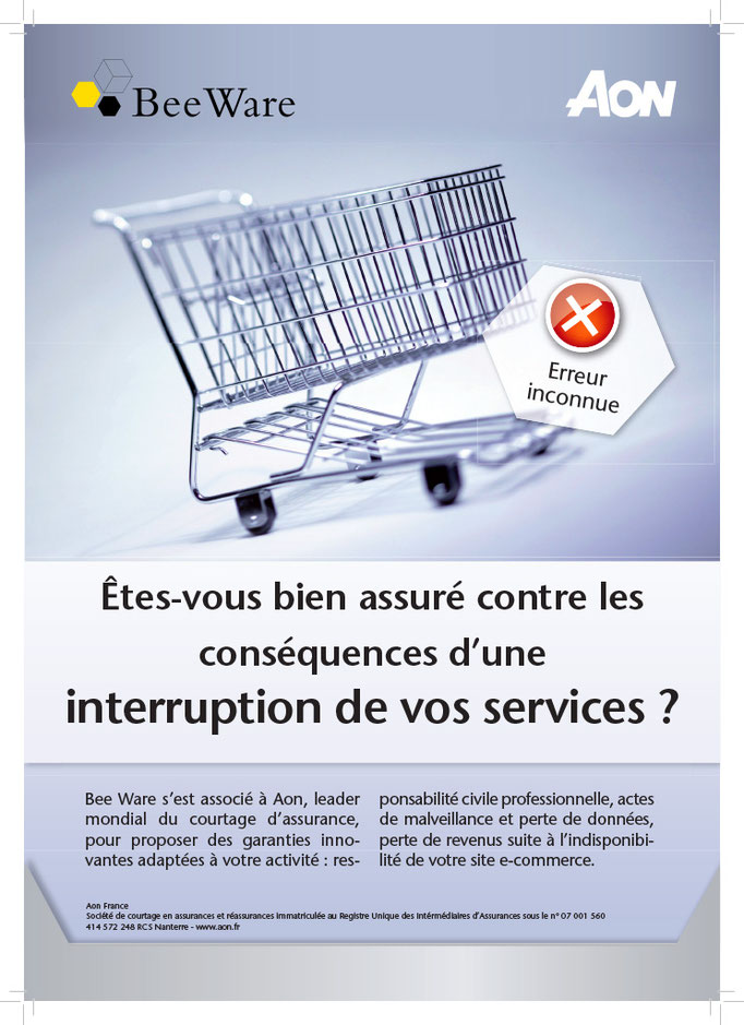 AFFICHE Institutionnelle, Groupe Aon France