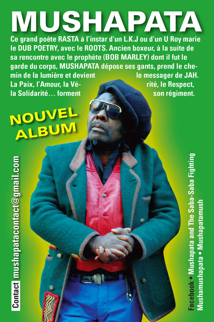 FLYER, Nouvel album de l'artiste Mushapata