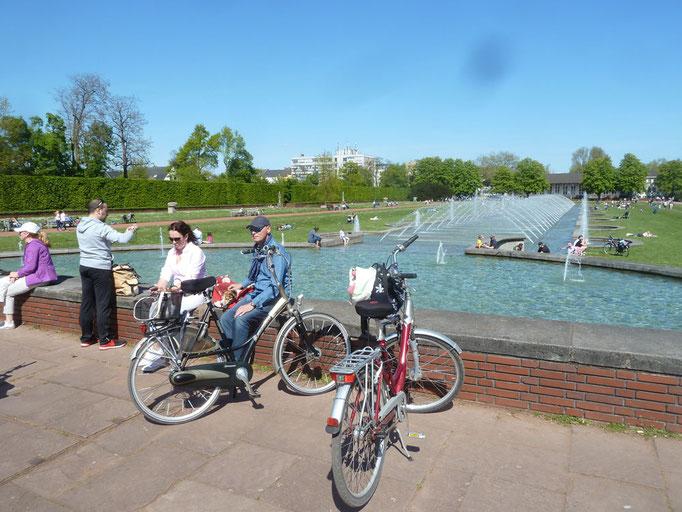 mit dem Rad in den Nordpark