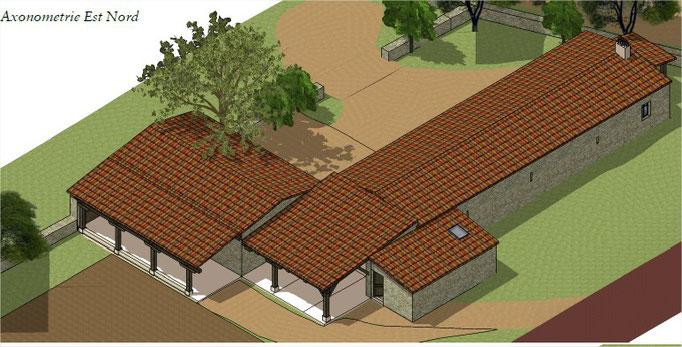 rénovation construction Lot lalbenque architecte