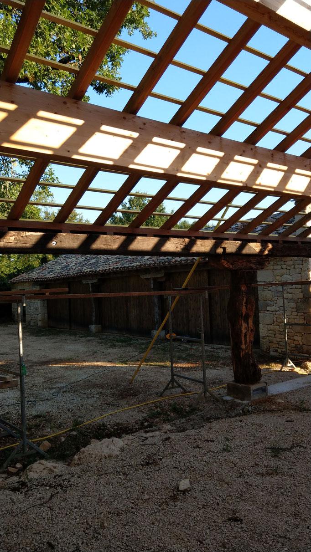 chantier architecte Belmont sainte foi