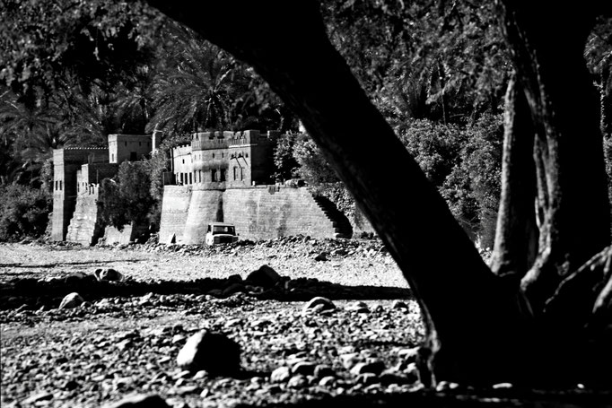 Dorf im Wadi Bani Awf (Al Batinah South)
