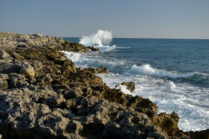 Apulien/Süditalien am Strand