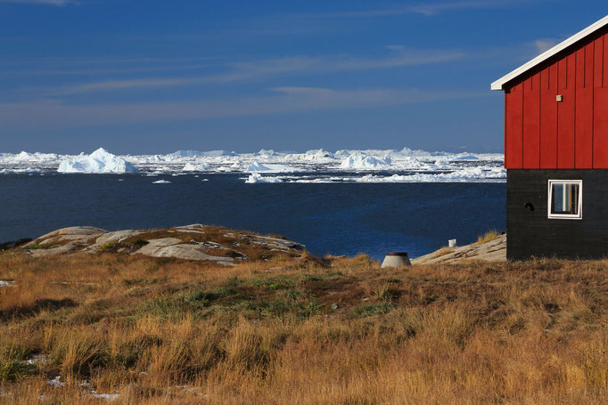 Hütte am Icefjord
