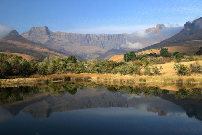 Spiegelung Drakensberge, Royal Natal NP
