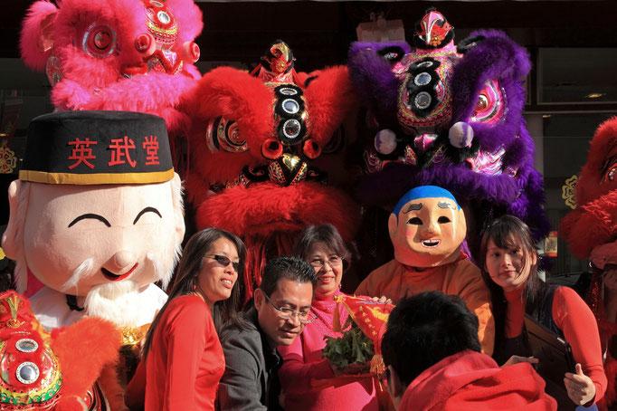 Chinesisches Neues 'Jahr der Ziege'