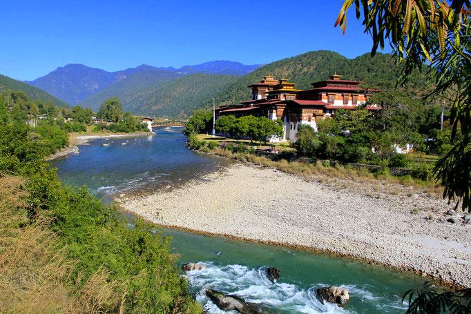 Punakha Dzong (Palast der Glückseligkeit)