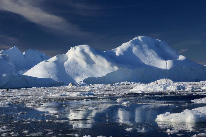 Eisberge - gespiegelt