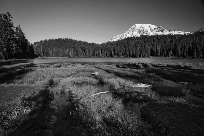 Mt. Rainier und Reflection Lake, Washington State