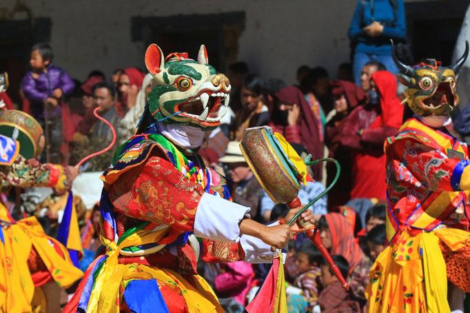Maskentanz der Mönche, Kranich-Festival
