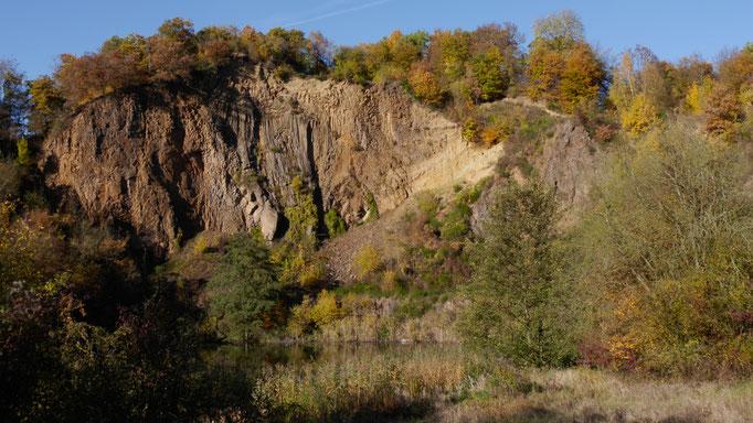 Basalt Steinbruch Dächelsberg