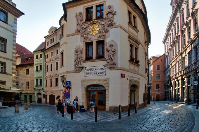 In der Prager Altstadt