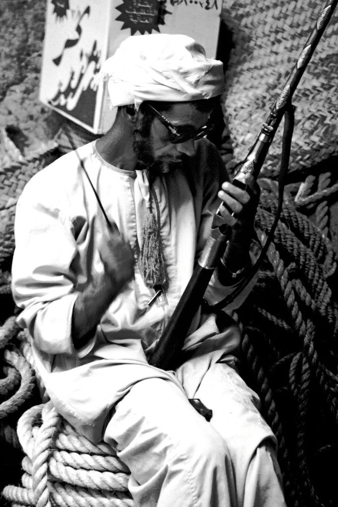 Waffenschmied im Suq von Bahla, (Ad Dakhliyah)