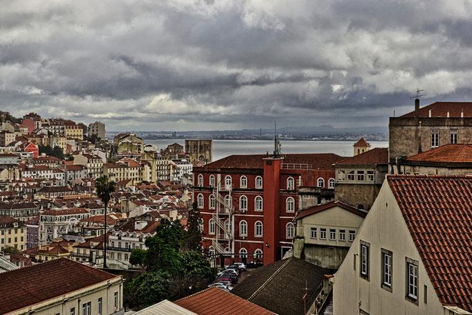 Sicht vom Miradouro São Pedro de Alcântara
