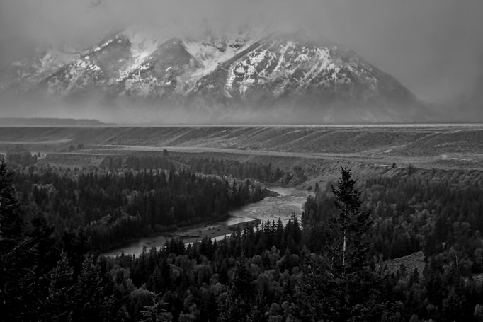 Snake River und die Grand Tetons, Wyoming