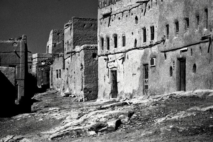 Lehmbauten in Al Hamra (Ad Dakhliyah)