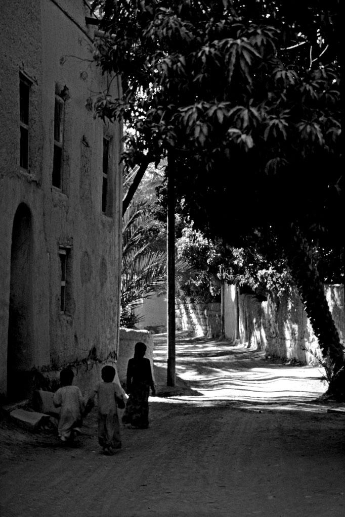Straße in Ibri (Adh Dhahirah)