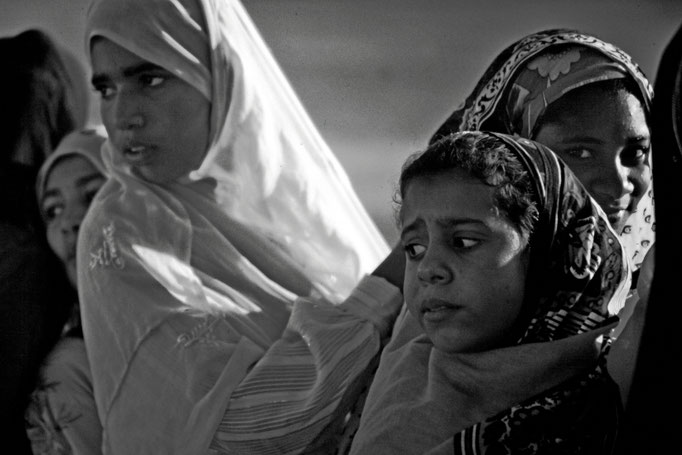 Junge Frauen in Sohar (Al Batinah North)