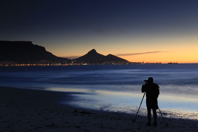 Kapstadt (vom Bloubergstrand)