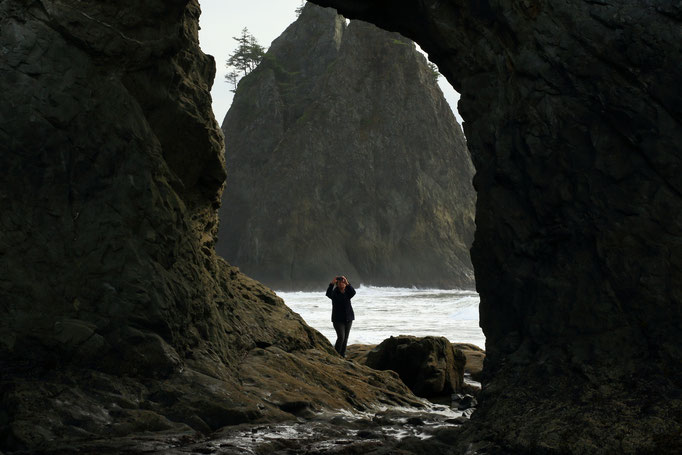 USA Olympic National Park Hole-in-the-Wall