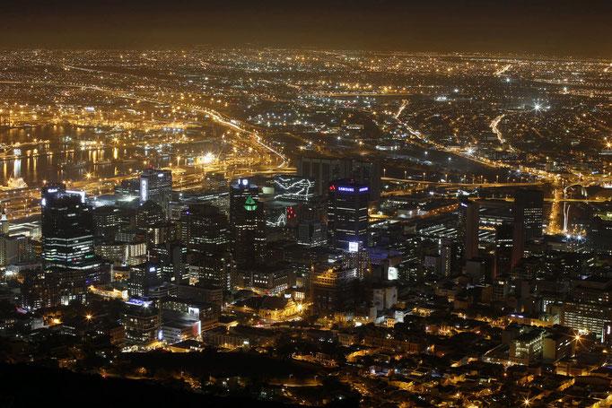 Kapstadt (vom Signal Hill)