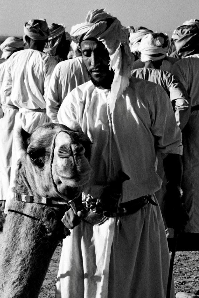 Omani mit Rennkamel, Sohar (Al Batinah North)